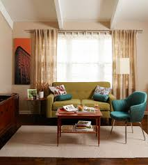 retro livingroom modern retro living room home interior living room
