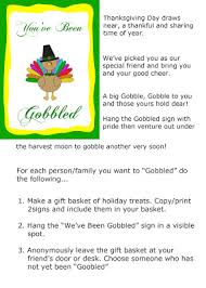 you ve been gobbled free printable signs savvy nana