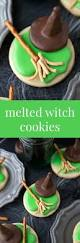melted witch cookies recipe cookies cute halloween and cute