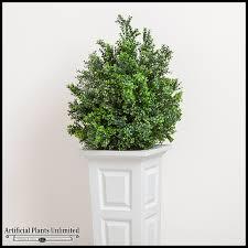 outdoor artificial bushes artificial cypress bush artificial shrubs