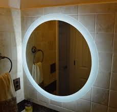 Lighted Vanity Mirrors For Bathroom Lighted Vanity Mirror