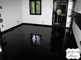 black painted laminate floor high gloss wood your loversiq