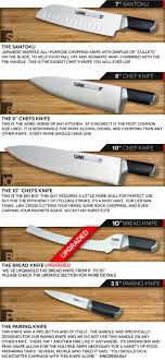 must kitchen knives fini cutlery chef invented knives perfected by fini cutlery