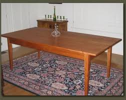custom made dining room tables custom made dining table cherry wood shaker style dining room