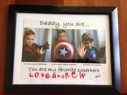 superhero dad birthday present crafts pinterest superhero