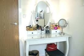 vanity table with lighted mirror and bench lighted vanity mirror table nomobveto org