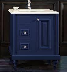 Blue Bathroom Vanity by Colorinspire By Wellborn Cabinet In Sapphire Navy Blue Bathroom