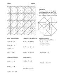 Multi Equations With Variables On Both Sides Worksheet Printables Equations With Variables On Both Sides Worksheet