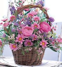 basket of flowers 14 diy ideas for your garden decoration 12 flowers floral