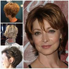 short hairstyles for women over 50 haircuts hairstyles 2017 and