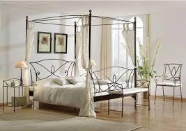 fer forgé chambre coucher lit en fer forgé lit a baldaquin chambre a coucher adulte enfant