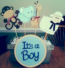 simple baby shower centerpiece ideas for boys horsh beirut