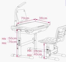 Drafting Table And Chair Set Height Adjustable Children Table And Chairs Set Factory Supply