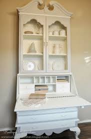 Secretary Desk Hutch by White Washed Secretary Desk Best Home Furniture Decoration
