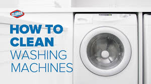 how to clean your washing machine clorox youtube