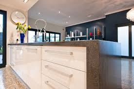 Corian Bench Top Beautiful Lava Rock Corian Kitchen Benchtop With Integrated Sink