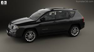 jeep crossover black 360 view of jeep compass 2013 3d model hum3d store