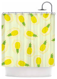 Kess Shower Curtains Strawberringo