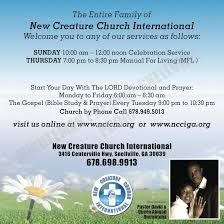 new creature church international churches 3416 centerville