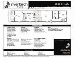 riverbirch homes single wide floor plans