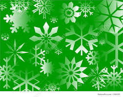 green christmas wrapping paper illustration of green flakes