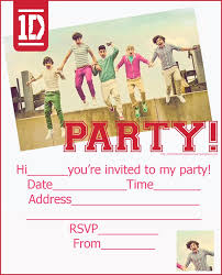 one direction invitation template u2013 orderecigsjuice info
