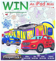 opel christmas winners announced christmas colouring competition fitzpatricks