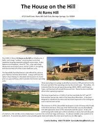 san diego county golf rams hill golf club 760 767 3500