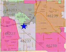 Maps Indianapolis Indianapolis Zip Code Map Afputra Com