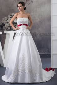 wedding dress maroon lovely white and maroon wedding dress