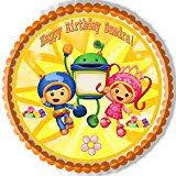 team umizoomi cake team umizoomi edible image cake topper by kopykake