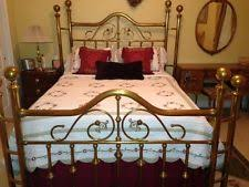 brass bed queen ebay