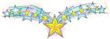 pastel stars tattoo design by deborah valentine on deviantart