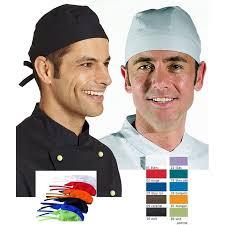casquette de cuisine calots coiffes casquettes bandanas ceintures biomidi
