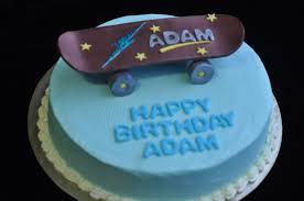 skateboard cakes u2013 decoration ideas little birthday cakes