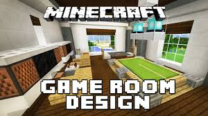 How To Make Decorations In Minecraft Minecraft Tutorial How To Make Furniture For A Game Room Modern