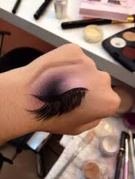 great way to practice smoky eye application without having to erase your eye makeup and start over would make a great makeup tattoo sticker you could