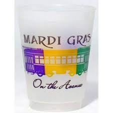 mardi gras throw cups flex party cup express