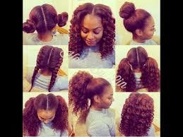 sewing marley hair how to do a 4 way vixen crochet braids natural hair style