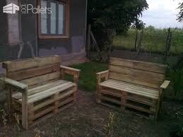 garden benches from reclaimed wooden pallets u2022 1001 pallets