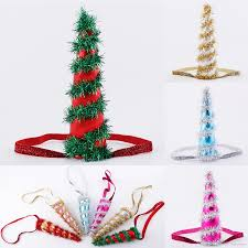 christmas hair accessories christmas unicorn horns headband kids hair sticks for and