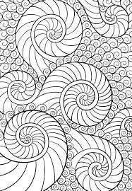 171 coloring pages print abstract images
