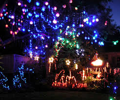 christmas light bulb necklace christmas lights decoration