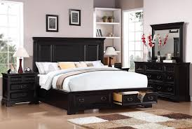 Black King Bed Frames Classic Style Bedroom Decoration With California King Size Bed