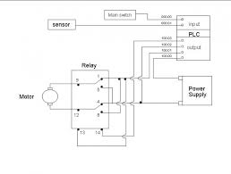 motor control circuit diagram with plc u2013 readingrat net