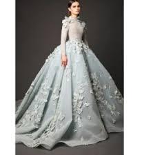 2016 long sleeve muslim evening dresses elegant real image