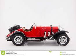 car mercedes red mercedes benz 1900s red classic car isolated in white background