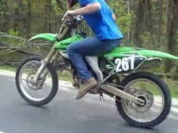 bmw motocross bike kawasaki dirt bike vs bmw 0 60 youtube