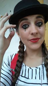 Good Makeup Ideas For Halloween by Best 25 Mime Makeup Ideas On Pinterest Clown Makeup Mime