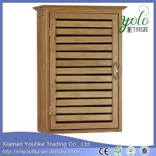 Bamboo Wall Cabinet Bathroom Buy Cheap China Bathroom Single Door Cabinet Products Find China